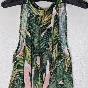Show Me Your MuMu Mateo Cropped Tie Neck Top